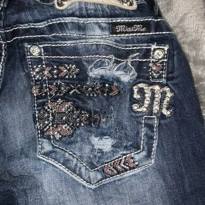 Size 26 Bootcut Miss Me Jeans